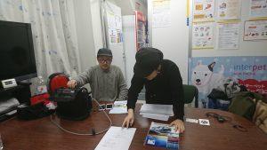 品川営業所で東京FMの生放送がありました!