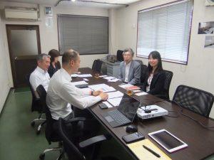 大阪市立大学の福村准教授が来社されました